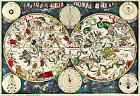 Небесная карта 17-го века Фредерика  Де Вита, фото 1