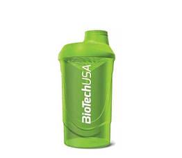 """Шейкер BioTech Shaker Wave BioTech USA """"Grass Green"""" 600 ml"""