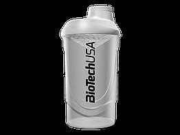 """Шейкер BioTech Shaker Wave BioTech USA """"Opal White"""" 600 ml"""