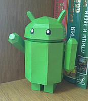 """3D фігура з паперу """"Андроід"""""""