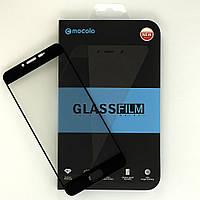 Защитное стекло Mocolo для Meizu U20 полноэкранное черное
