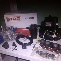 Мини комплект ГБО 4-го поколения Stag 200 go fast
