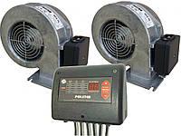 Автоматика для котла Polster C-31 Duo (2 вентилятора і 1 насос) + WPA-120 МplusМ