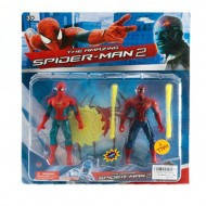 Супергерои Спайдермен, фигурка шарнирная, 2шт на листе(+) (Арт. MMT-TBG222003)