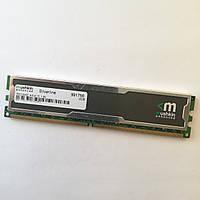 Игровая оперативная память Mushkin DDR2 2Gb 667MHz PC2 5300U CL5 (991756) Б/У, фото 1