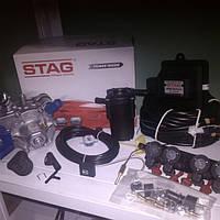 Полный Комплект ГБО 4 поколения STAG