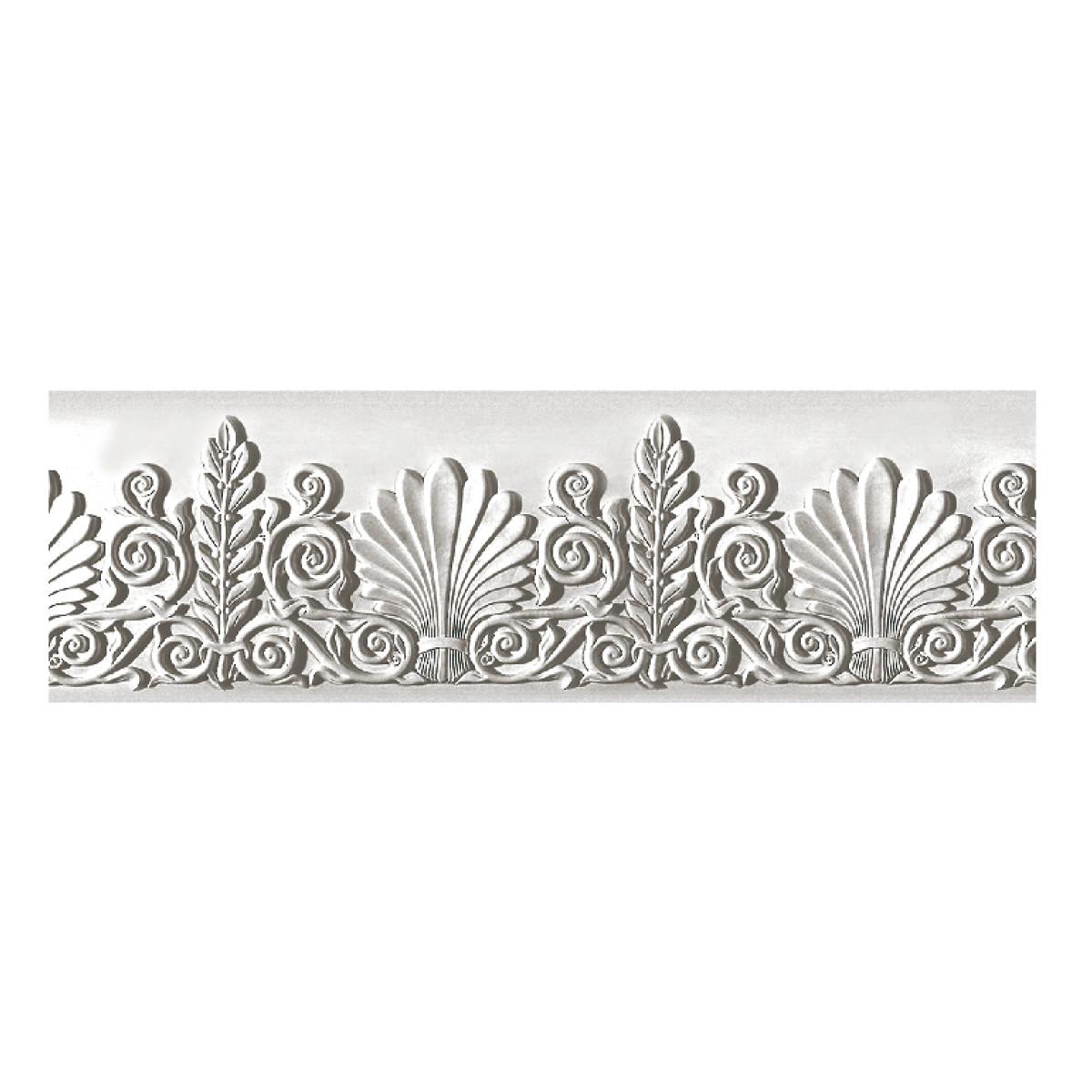 Декоративный фриз из гипса, гипсовый фриз с орнаментом Ф-29 (без обрамления) h280 мм