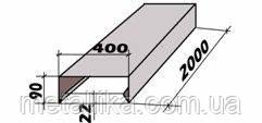 Парапетная планка в Одессе, Планка парапета в Одессе, цинк 0.5мм