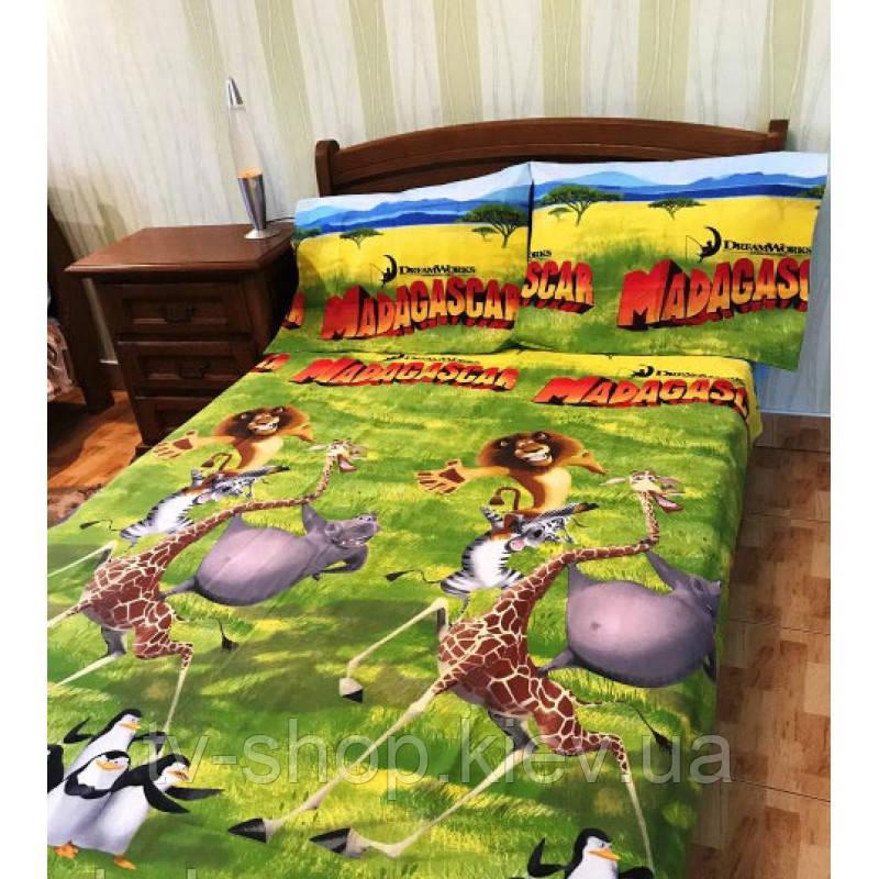 Комплект постельного белья Мадагаскар 1,5