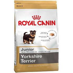 Royal Canin Yorkshire Terrier Junior Сухой Корм Для Щенка Йоркширского Терьера До 10 Месяцев, 500 Г