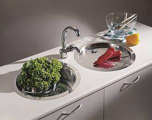 Кухонная мойка PYRAMIS CT (D45) LINEN, фото 2
