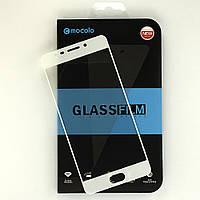 Защитное стекло Mocolo для Meizu M6 Note полноэкранное белое, фото 1