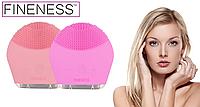 Щетка для чистки лица FINENESS FE-SV MINI (розовый) #E/S