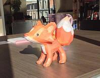 """3D фігура з паперу """"Лисеня"""""""