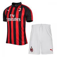 Футбольная форма Милан Домашняя (Milan) 2018-2019 , фото 1