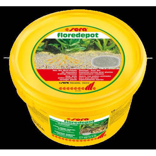 Sera Floredepot субстрат под основной грунт для растений, 4,7 кг