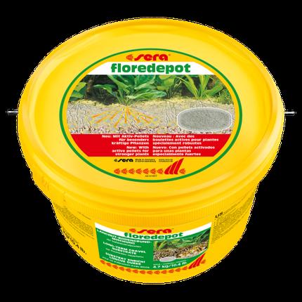 Sera Floredepot субстрат под основной грунт для растений, 4,7 кг, фото 2