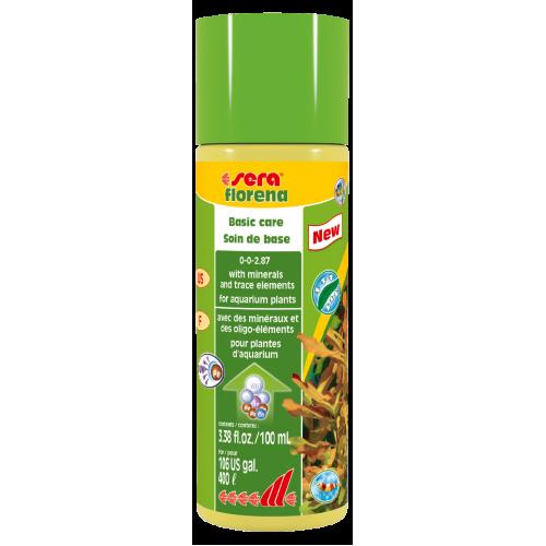 Sera Florena жидкое удобрение для аквариумных растений на 400 л - 100 мл