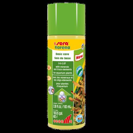 Sera Florena жидкое удобрение для аквариумных растений на 400 л - 100 мл, фото 2