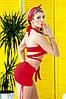 Раздельный купальник с юбкой Totalfit KR5-C4 XXS Красный, фото 3