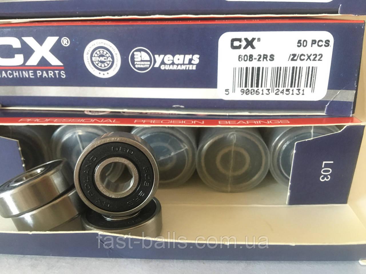 Подшипник CX 608 2RS (8x22x7) - 50шт.