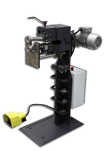 Станок зиговочный электромеханический ZGE 2.0 | зиговка электрическая | зиг машина с электроприводом PsTech