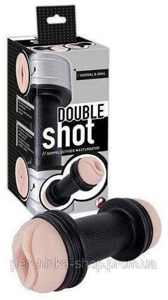 Двосторонній мастурбатор Double Shot від Orion, фото 2