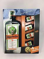 Травяной ликер Jagermeister 4 minis gratis