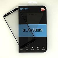Защитное стекло Mocolo для Huawei P Smart полноэкранное черное