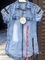 Джинсовая туника для девочек Alya.разм 8-12 лет, фото 1