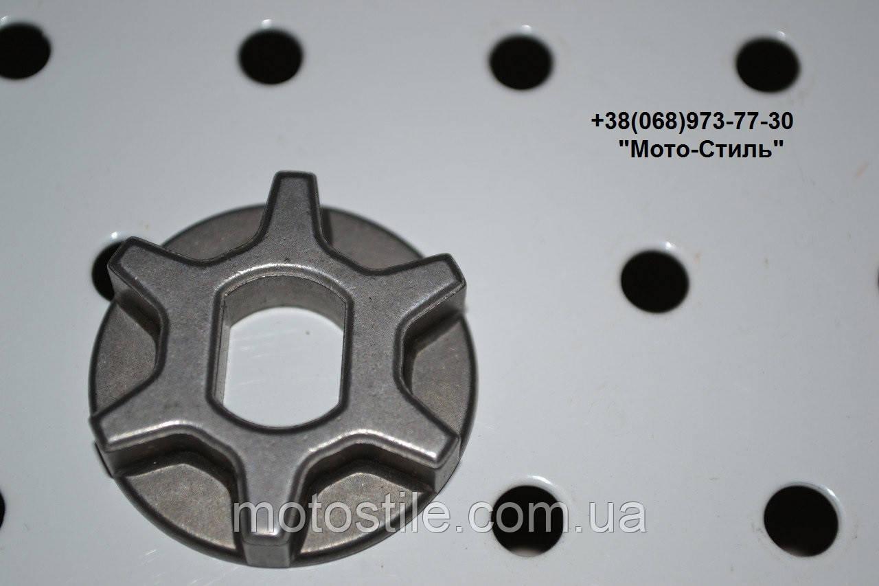 Ведущая звезда электропилы 3/8-6 (d-30mm; d-9/12mm; H-6,5mm)