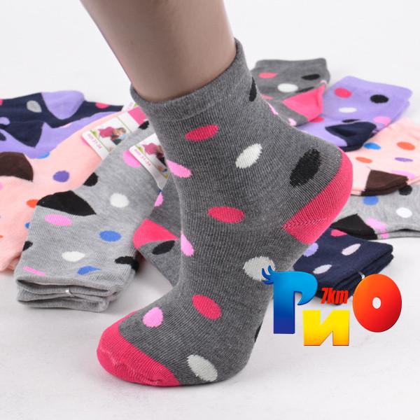Детские носочки (98%- Bawlna, 2%- Poliamid), унисекс р-р 25-27 (10 ед. в упаковке)