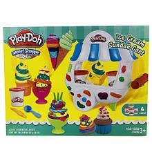 Игровой набор Play-Doh Фургончик мороженого Ice Cream Sundae Cart