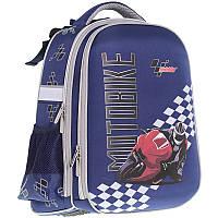 Рюкзак школьный каркасный CLASS Motobike 13010930-9909