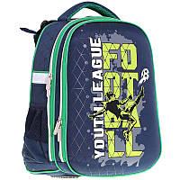 Рюкзак школьный каркасный CLASS Football 13010940-9910