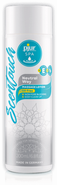 Масажний лосьйон Pjur SPA ScenTouch Massage Neutral Way 200 мл нейтральний
