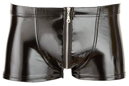 Лакові трусики Black Level Pants від Orion, фото 2