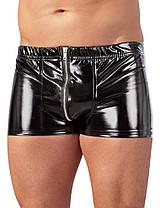 Лакові трусики Black Level Pants від Orion, фото 3