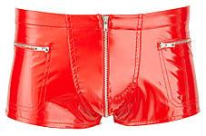 Лакові трусики Black Level Pants Red від Orion, фото 3