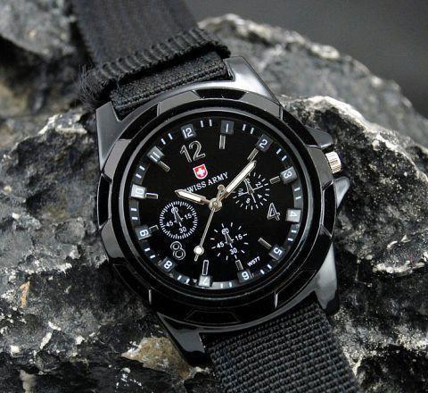 Мужские часы Swiss Army военный чоловічий годинник армейские кварцевые
