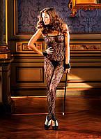 Эротический комбинезон Flower Lace Bodystocking от BACI Lingerie