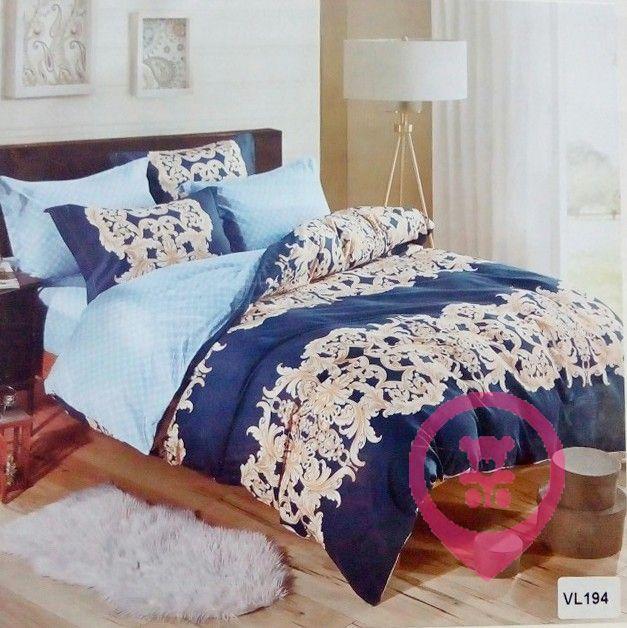 Комплект постельного белья микровелюр Vie Nouvelle Velour 200х220 VL194
