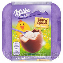 Шоколадные шары  Milka  Egg 'n' Spoon , 34 гр х 4 шт