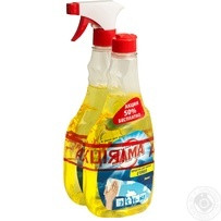 Средство для мытья Sama Лимон триггер + запаска 2*500мл