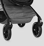 Прогулочная коляска Bertoni Lorelli Sport с чехлом на ножки, фото 6