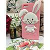 Силиконовый Чехол Rabbit Wish me mell на IPhone 4/4S Розовый infinity, фото 3