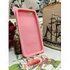 Силиконовый Чехол Rabbit Wish me mell на IPhone 4/4S Розовый infinity, фото 4
