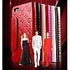 Чехол Louis Vuitton книжка для IPhone 5/5S Черный infinity, фото 7