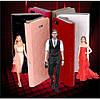Чехол Louis Vuitton книжка для IPhone 5/5S Черный infinity, фото 8