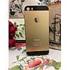 Чехол пластик Золотой с черным с логотипом на IPhone 5/5S infinity, фото 5